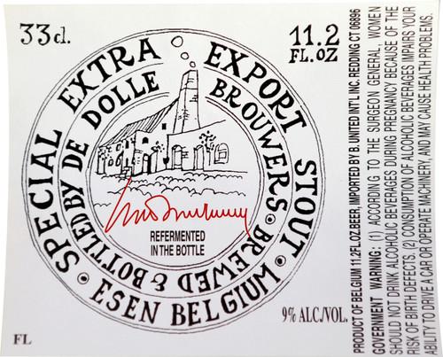 De Dolle Export Stout, 11.2oz bottle