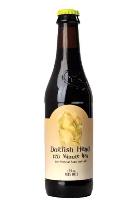 Dogfish Head 120 min IPA, 12oz bottle