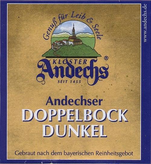 Andechs Doppelbock Dunkel, 16.9oz bottle