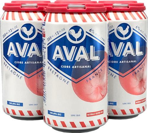 Aval Cidre 4pk, 4 pack 12oz cans
