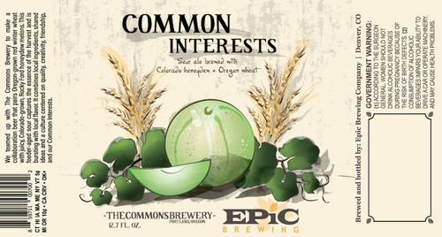 Epic Common Interest, 375ml bottle