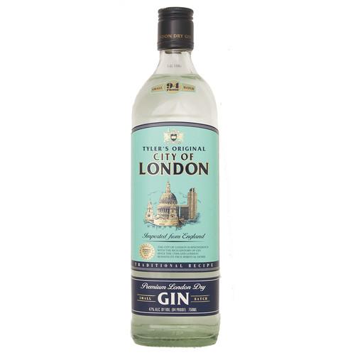 City of London Gin 1 Liter, 1 liter bottle