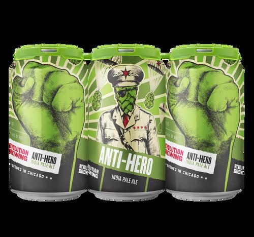Rev Anti-Hero IPA, 6 pack 12oz cans