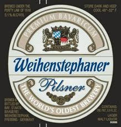 Weihenstephaner Pils, 6 pack 11.2oz bottles