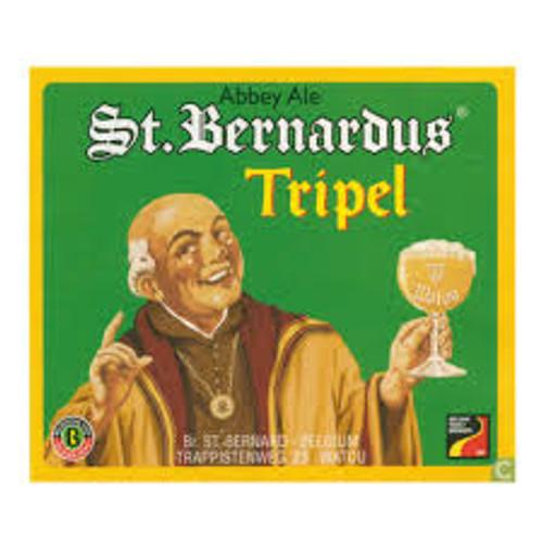 St Bernardus Tripel 4B 11.2oz, 4 pack 330ml bottles