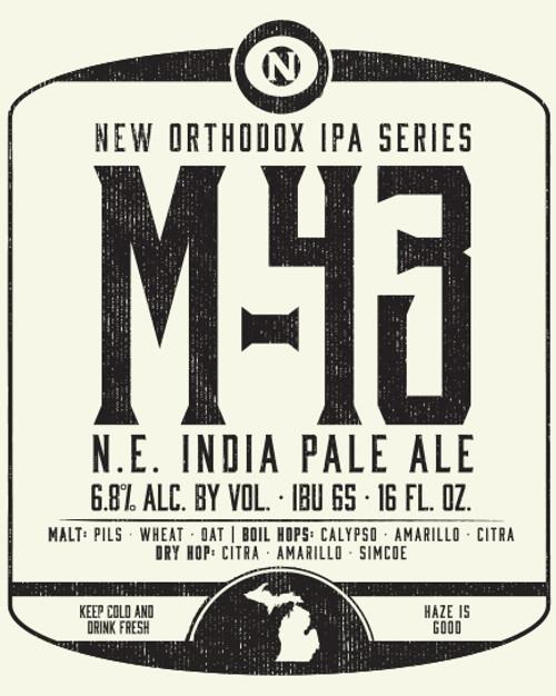Old Nation M-43, 4 pack 16oz cans