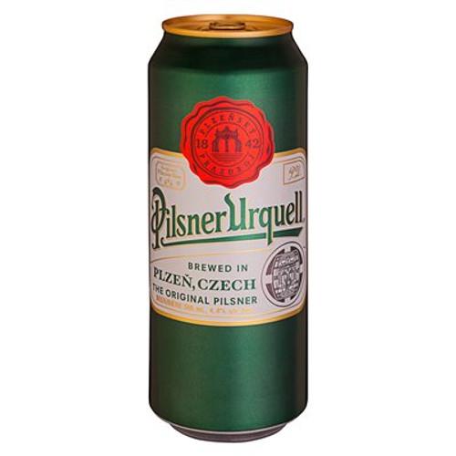 Pilsner Urquell, 4 pack 16.9oz cans