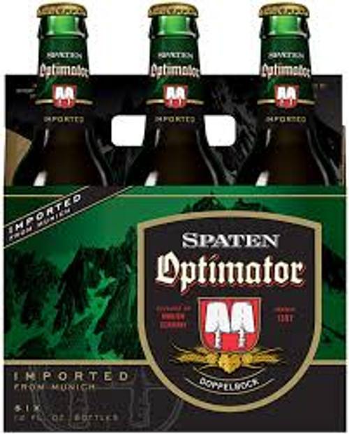Spaten Optimator, 6 pack 12oz bottles