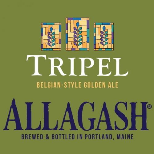 Allagash Tripel, 4 pack 12oz bottles
