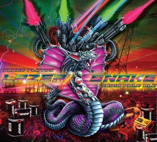 FFF Lazer Snake, 4 pack 16oz cans