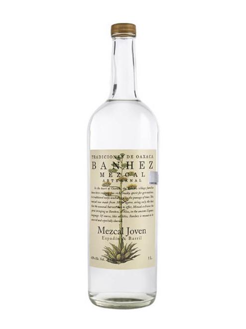 Banhez Espadin Mezcal 1L, 1 liter bottle