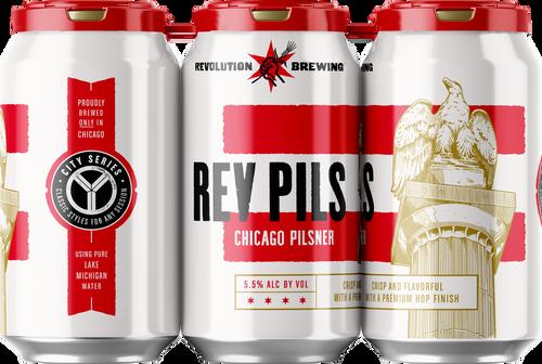 Rev PILS, 6 pack 12oz cans