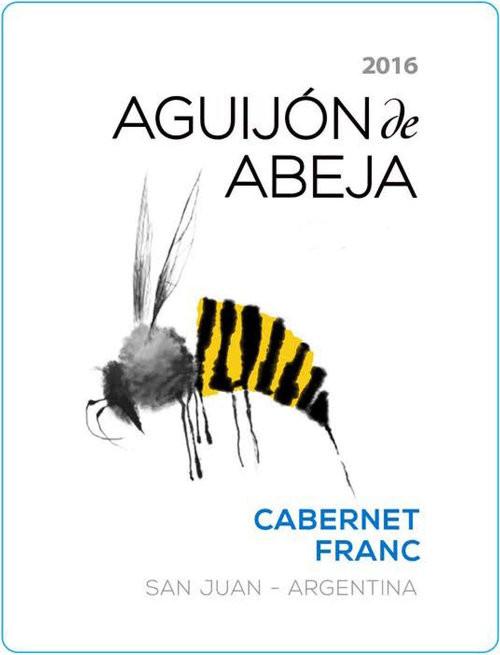 Aguijon de Abeja Cab Franc, 750ml bottle