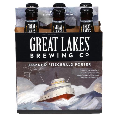 Great Lakes Edmund Fitzgerald, 6 pack 12oz bottles