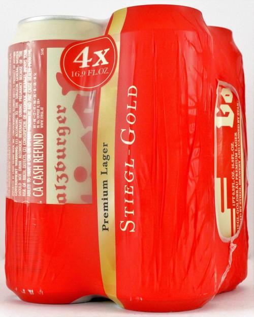 Stiegl Goldbrau, 4 pack 16.9oz cans