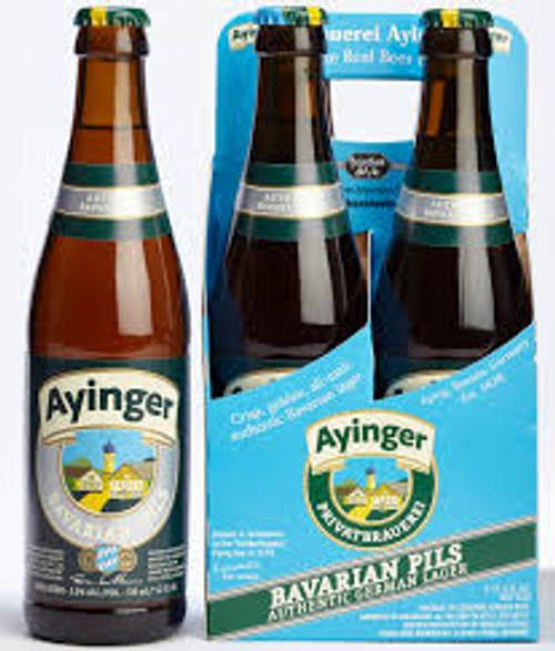 Ayinger Bavarian Pils, 4 pack 11.2oz bottles