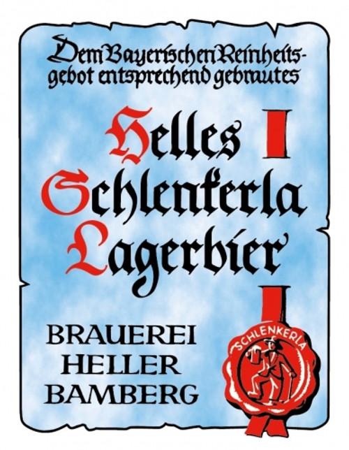 Schlenkerla Helles, 4 pack 16oz cans