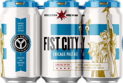 Rev Fist City, 6 pack 12oz cans