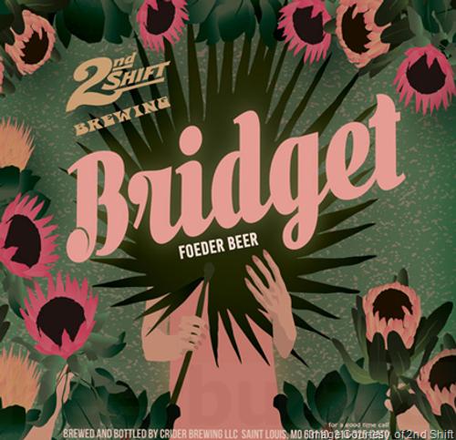 2nd Shift Bridget, 4 pack 16oz cans