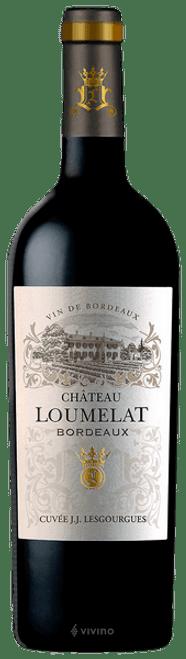 Chateau Loumelat Bordeaux, 750ml bottle