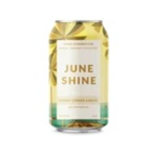 June Shine Honey Ginger, 6 pack 12oz cans