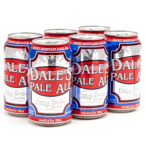 Oskar Blues Dale's Pale, 6 pack 12oz cans