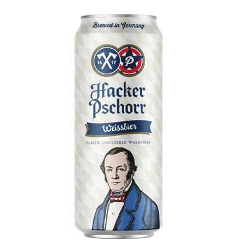 Hacker-Pschorr Hefe Weisse, 4 pack 16.9oz cans
