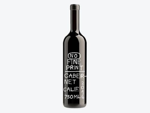 No Fine Print Cabernet, 750ml bottle