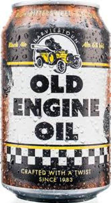 Harviestoun Old Engine Oil 4C, 4 pack 11.2oz bottles