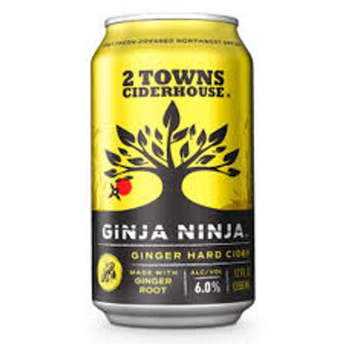 2 Towns Ginja Ninja, 6 pack 12oz cans