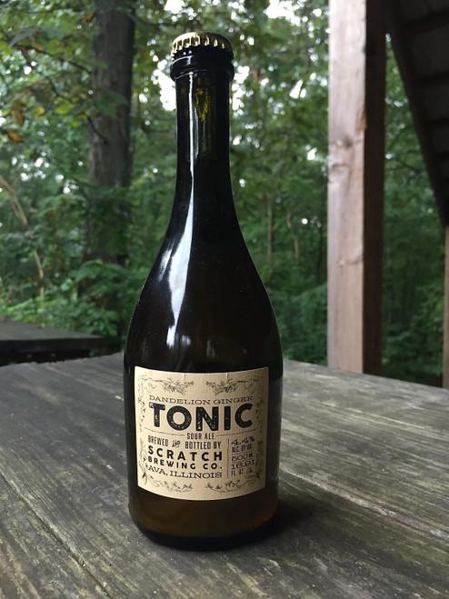 Scratch Dandelion Tonic, 16.9oz bottle