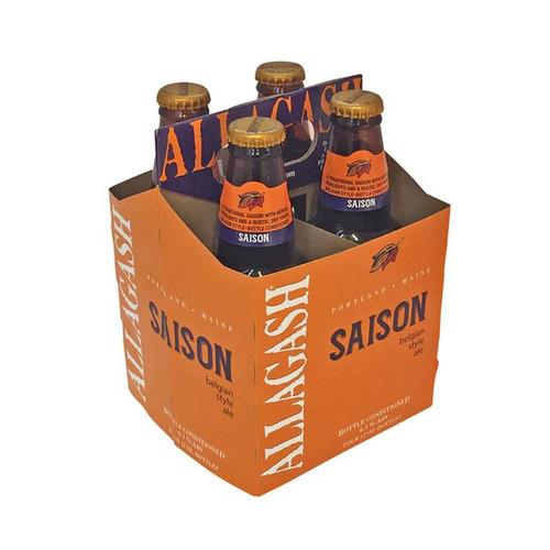 Allagash Saison, 4 pack 12oz bottles