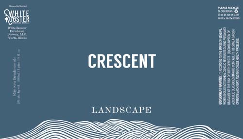 White Rooster Crescent, 16.9oz bottle