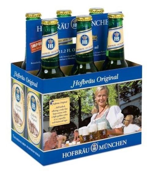 Hofbrau Original, 6 pack 11.2oz bottles