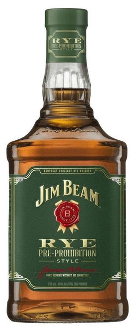 Jim Beam Rye, 750ml bottle