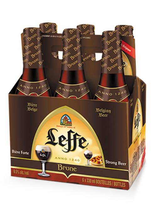Leffe Brune, 6 pack 11.2oz bottles