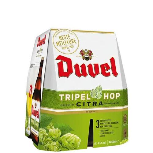 Duvel Triple Hop, 4 pack 375ml bottles