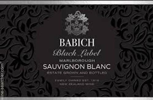 Babich Black Label Sauvignon B, 750ml bottle