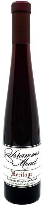 Schramm's Heritage Raspberry, 375ml bottle