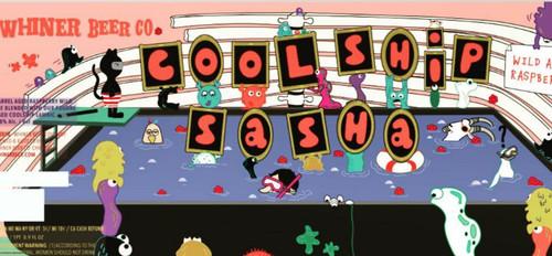 Whiner Coolship Sasha, 16.9oz bottle