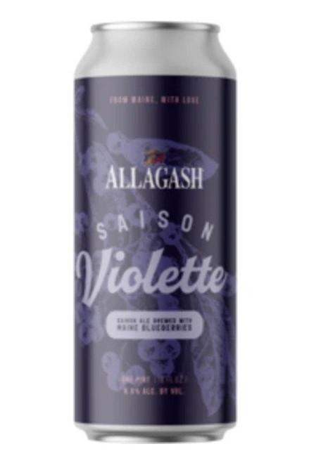 Allagash Saison Violette, 4 pack 16oz cans