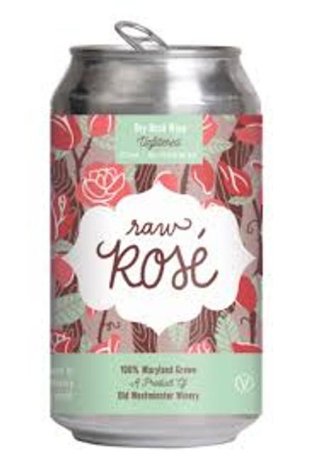 Old Westminster Raw Rose, 12oz bottle