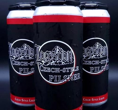 Logsdon Czech Style Pilsner, 4 pack 16oz cans