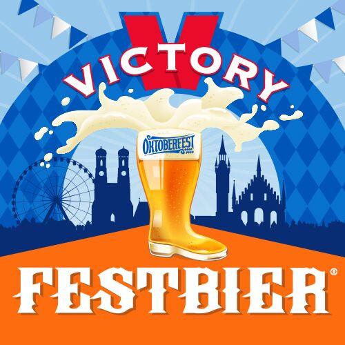 Victory Festbier, 6 pack 12oz bottles