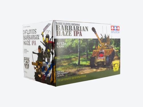 FFF Barbarian Haze, 6 pack 12oz cans