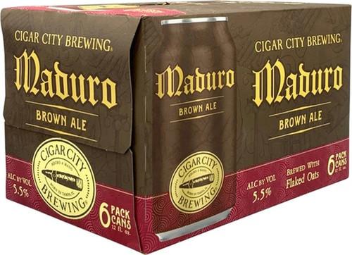 Cigar City Maduro, 6 pack 12oz cans