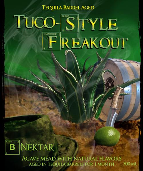 B Nektar Teq BA Tuco Freakout, 16.9oz bottle