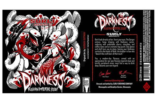Surly Darkness 2020, 750ml bottle