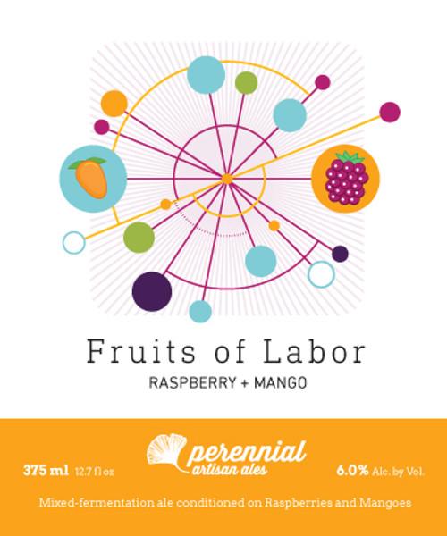 Perennial Fruits Mango & Rasp, 375ml bottle