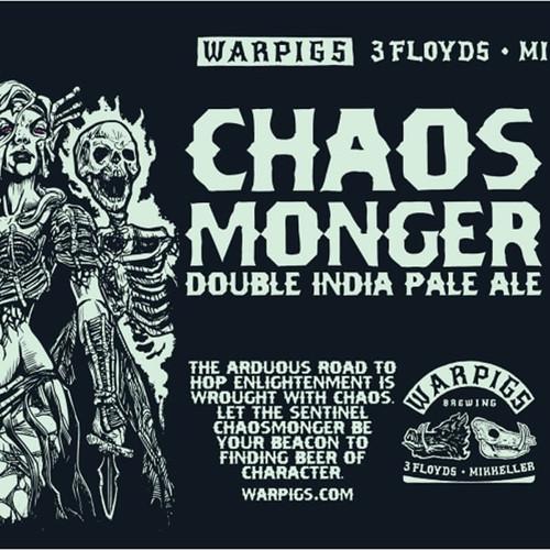 War Pigs Chaos Monger, 6 pack 12oz cans